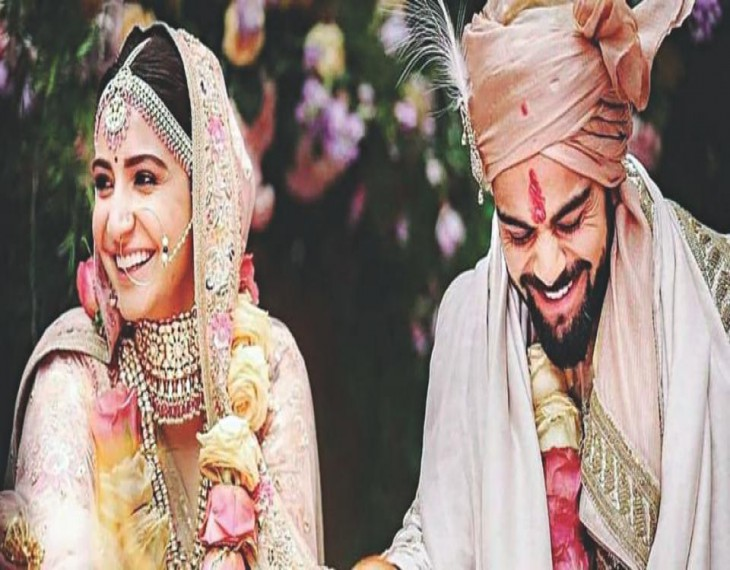 Virat Kohli and Anushka Sharma's wedding topped everything.